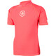 Color Kids Timon UPF T-Shirt Kids Short Sleeve fiery coral